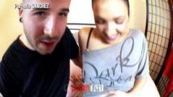 Pamela Sanchez, duża, owłosiona, mokra cipka, intensywnie rucha się z Kevinem White'em