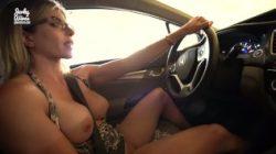 Sekretne wakacje z moją macochą – Nude Car Ride and Hotel Blowjob – Cory Chase